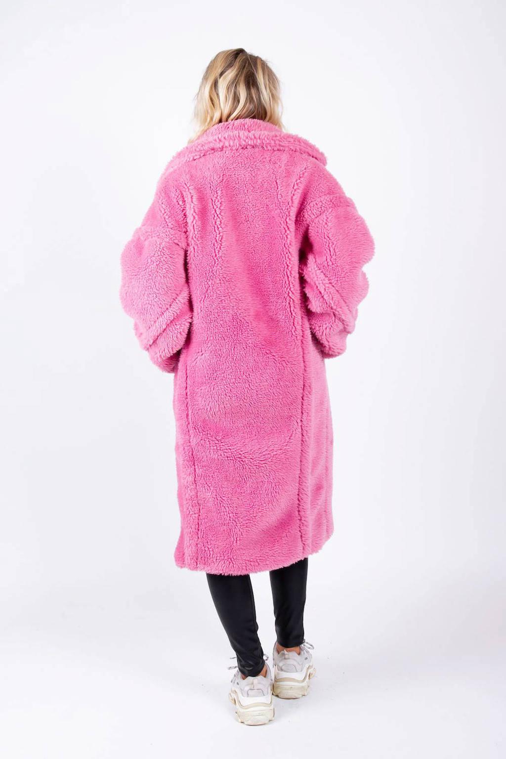Colourful Rebel teddy jas roze, Roze