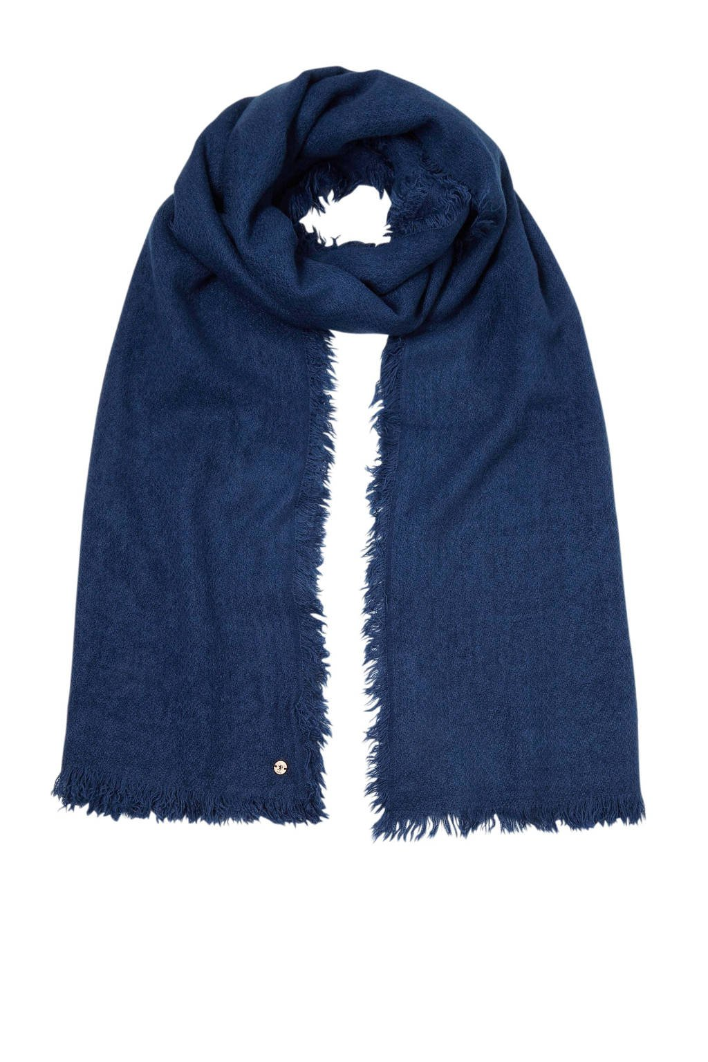 edc Women sjaal donkerblauw, Donkerblauw