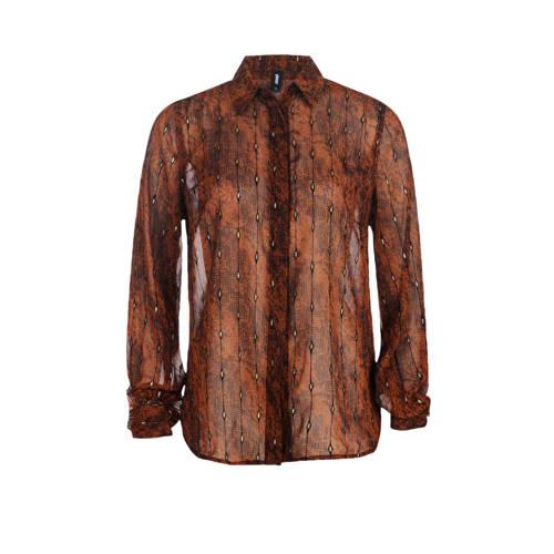 Eksept by Shoeby semi-transparante blouse met slan