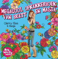 Megacool opkikkerboek van Britt en Masja - Carry Slee