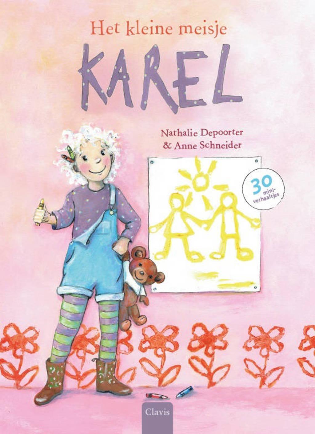 Het kleine meisje Karel - Nathalie Depoorter