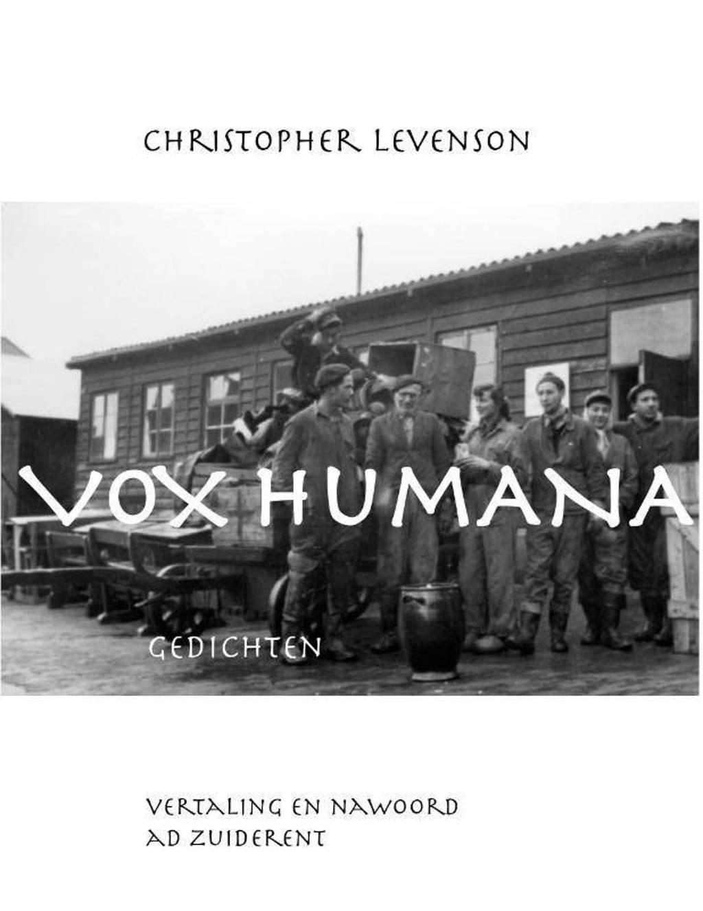 Vox Humana - Christopher Levenson
