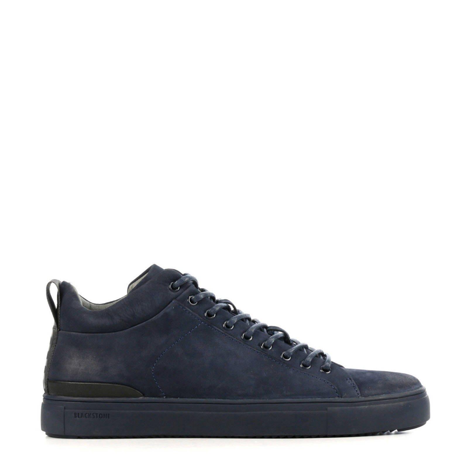 Blackstone SG19 nubuck sneakers donkerblauw online kopen