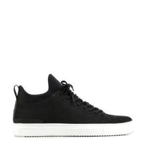 SG38  suède sneakers zwart