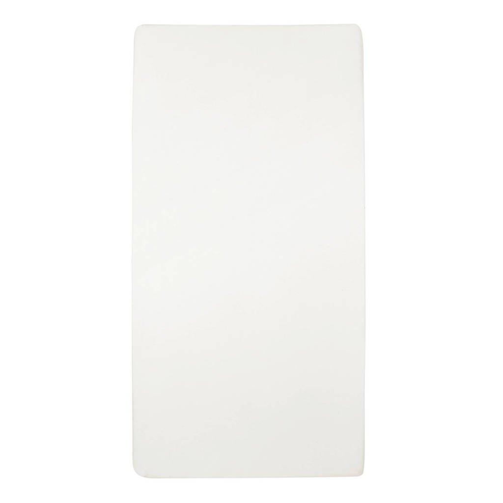 Meyco katoenen jersey hoeslaken ledikant 60x120 cm offwhite, Offwhite