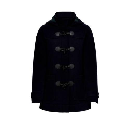 ONLY winterjas met wol donkerblauw