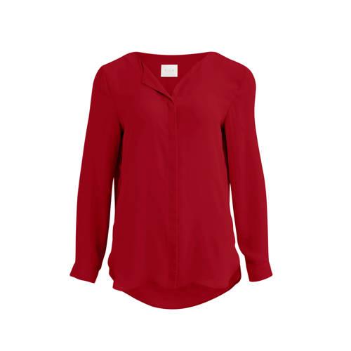 VILA blouse rood