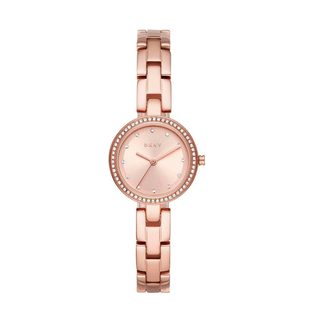 DKNY City Link Dames Horloge NY2826, Rosé goud