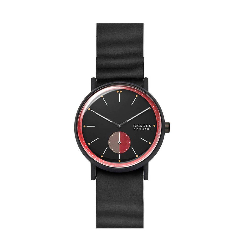 Skagen horloge Signatur SKW6540 zwart, Zwart