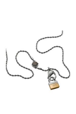 heren collier Single Pendant DX1203040