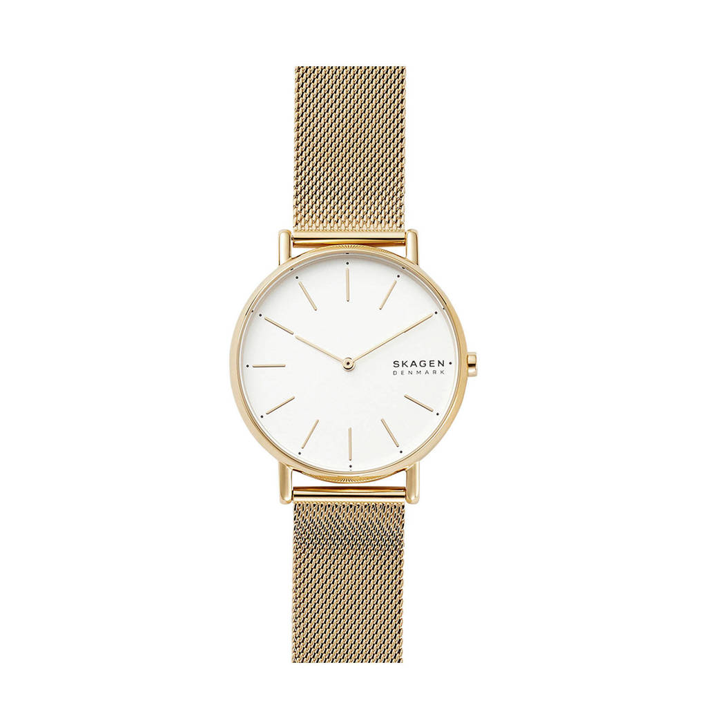 Skagen Signatur Dames Horloge SKW2795, Goud