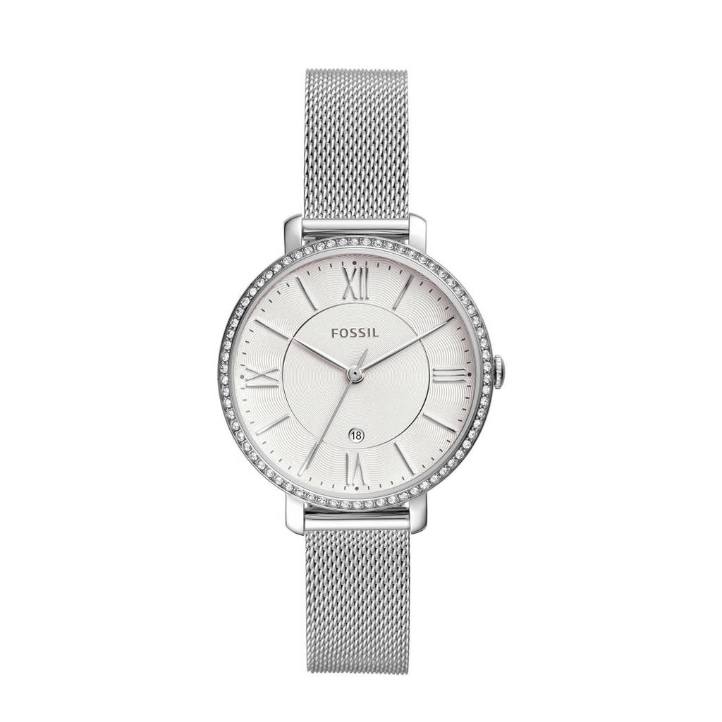 Fossil Jacqueline Dames Horloge ES4627, Zilver