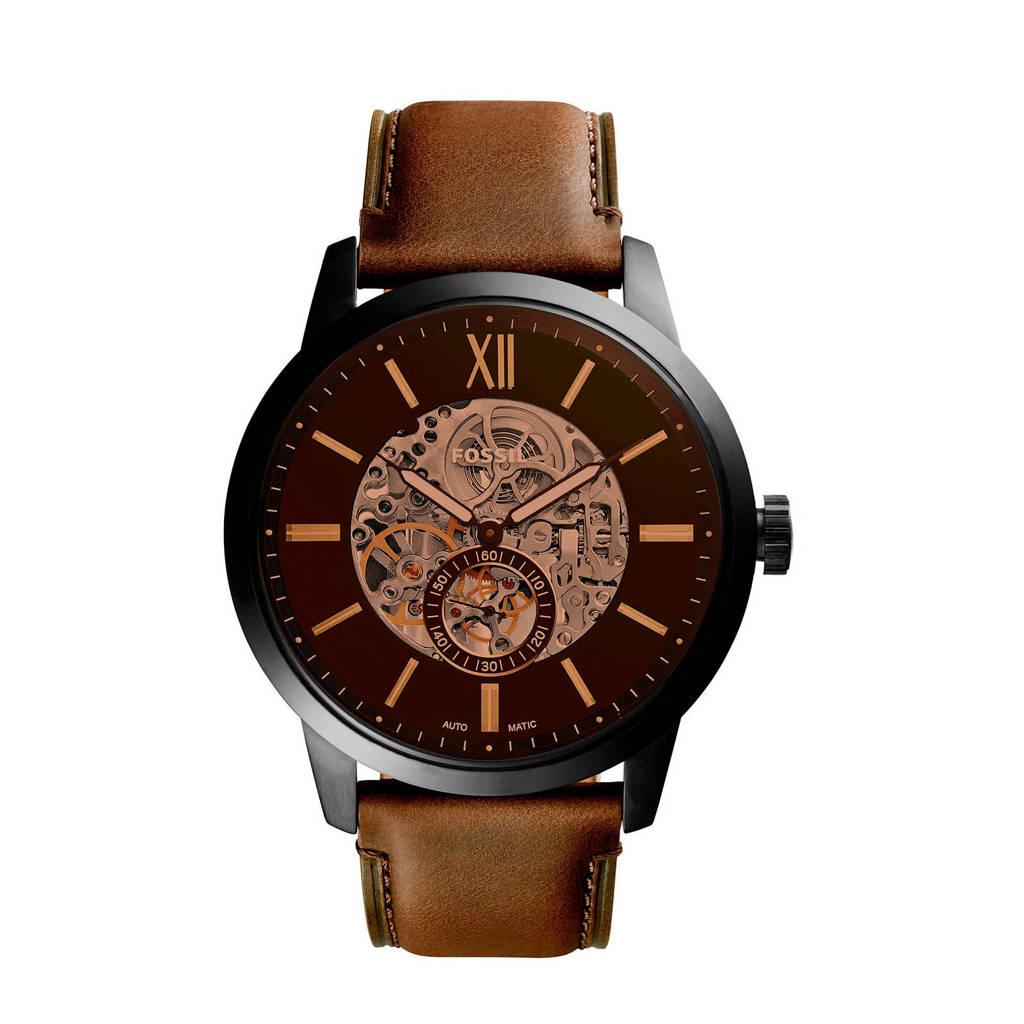 Fossil horloge Townsman ME3155 zwart, Zwart