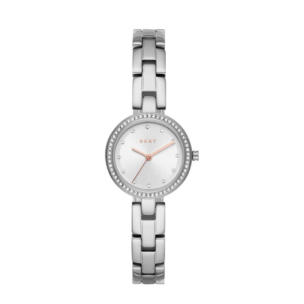 DKNY City Link Dames Horloge NY2824, Zilver