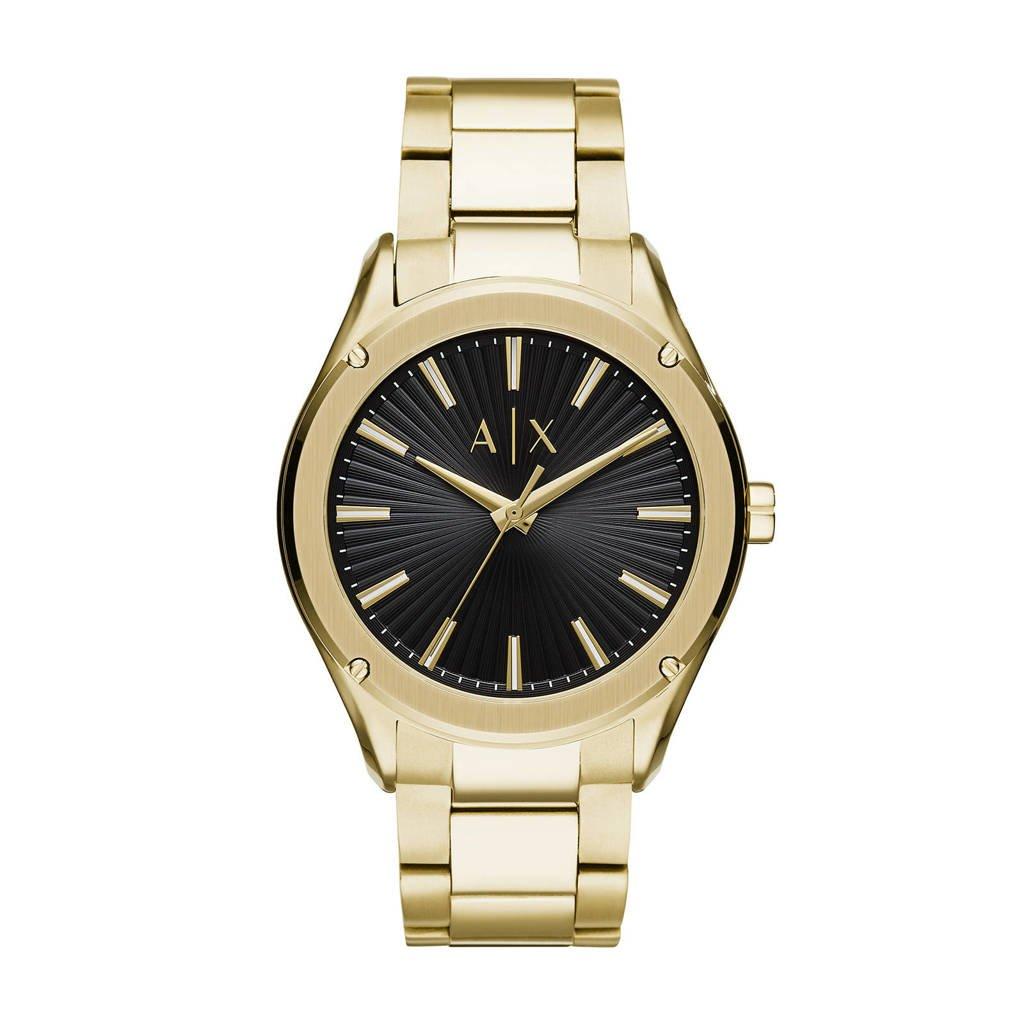 Armani Exchange heren horloge Fitz AX2801, Goud