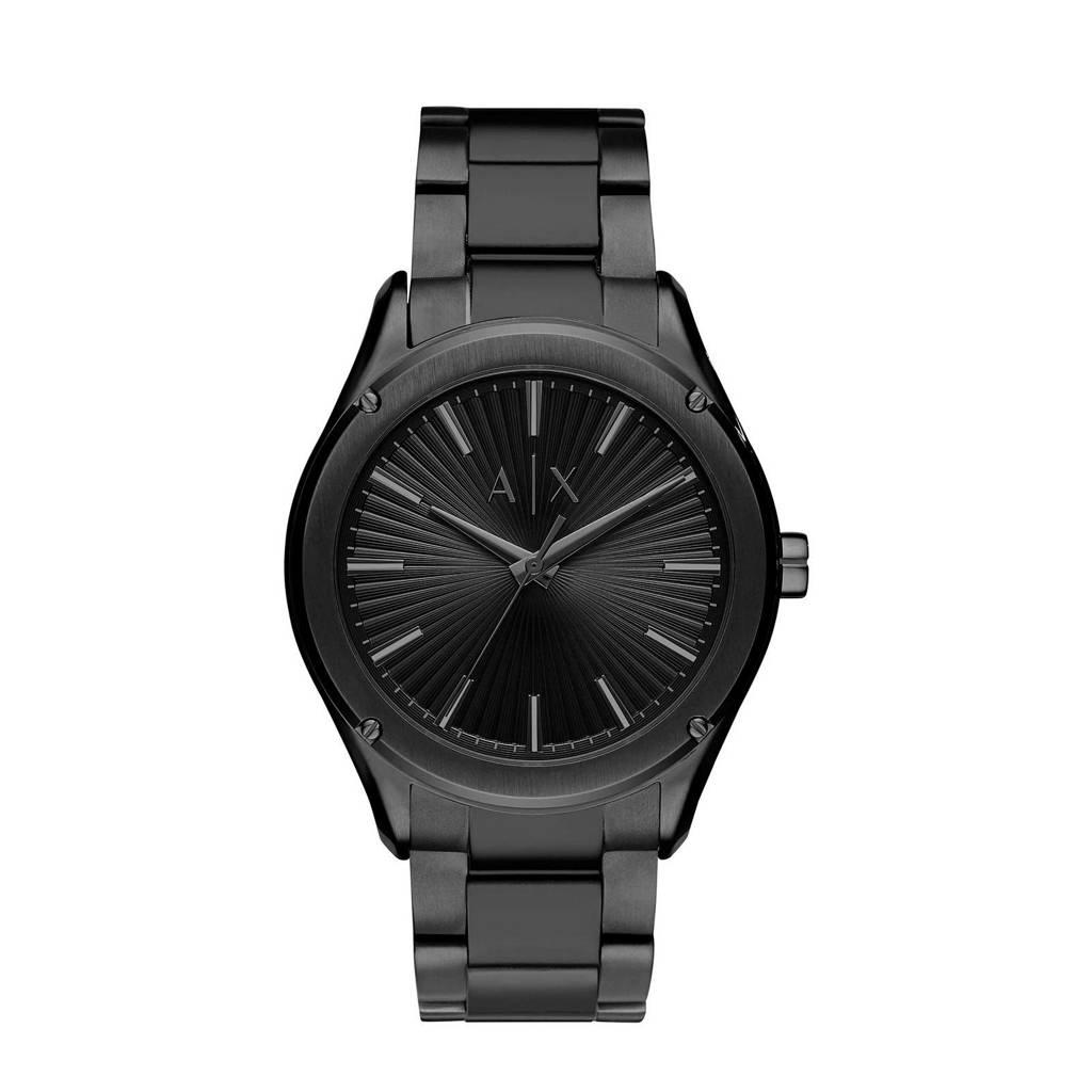 Armani Exchange horloge Fitz AX2802 zwart, Zwart
