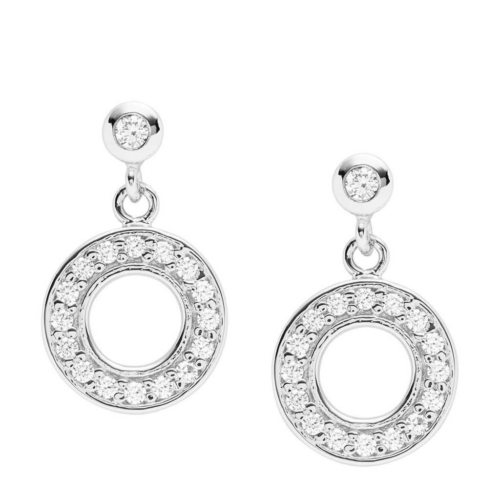 Fossil dames oorbellen Sterling Silver JFS00473040, Zilver