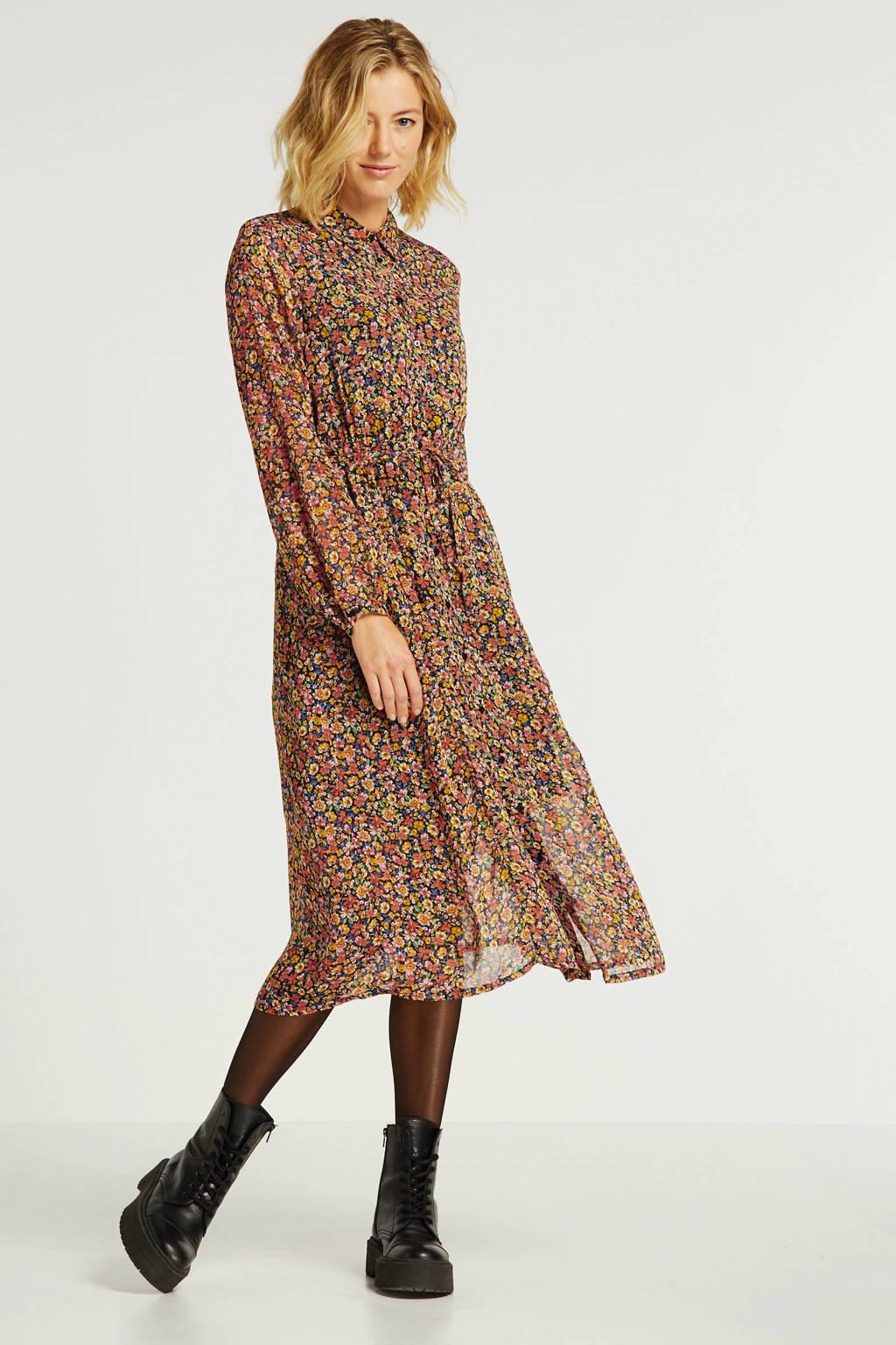 ONLY gebloemde jurk multi, Multi