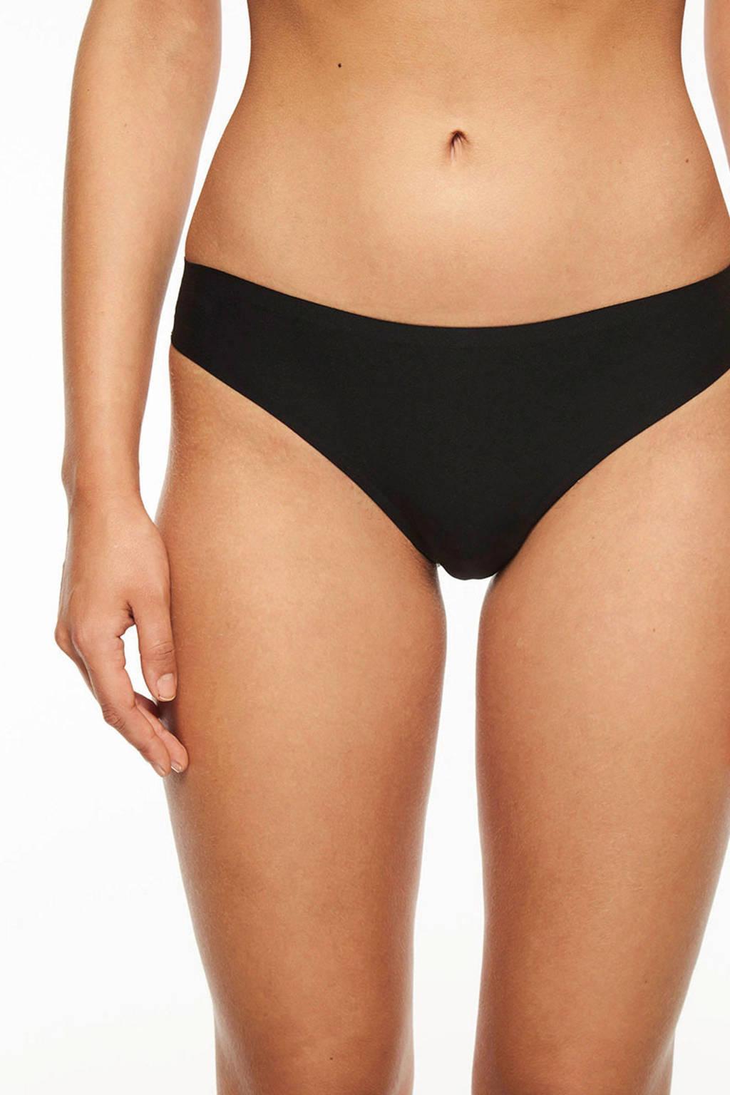 Chantelle string one size Soft Stretch zwart, Zwart