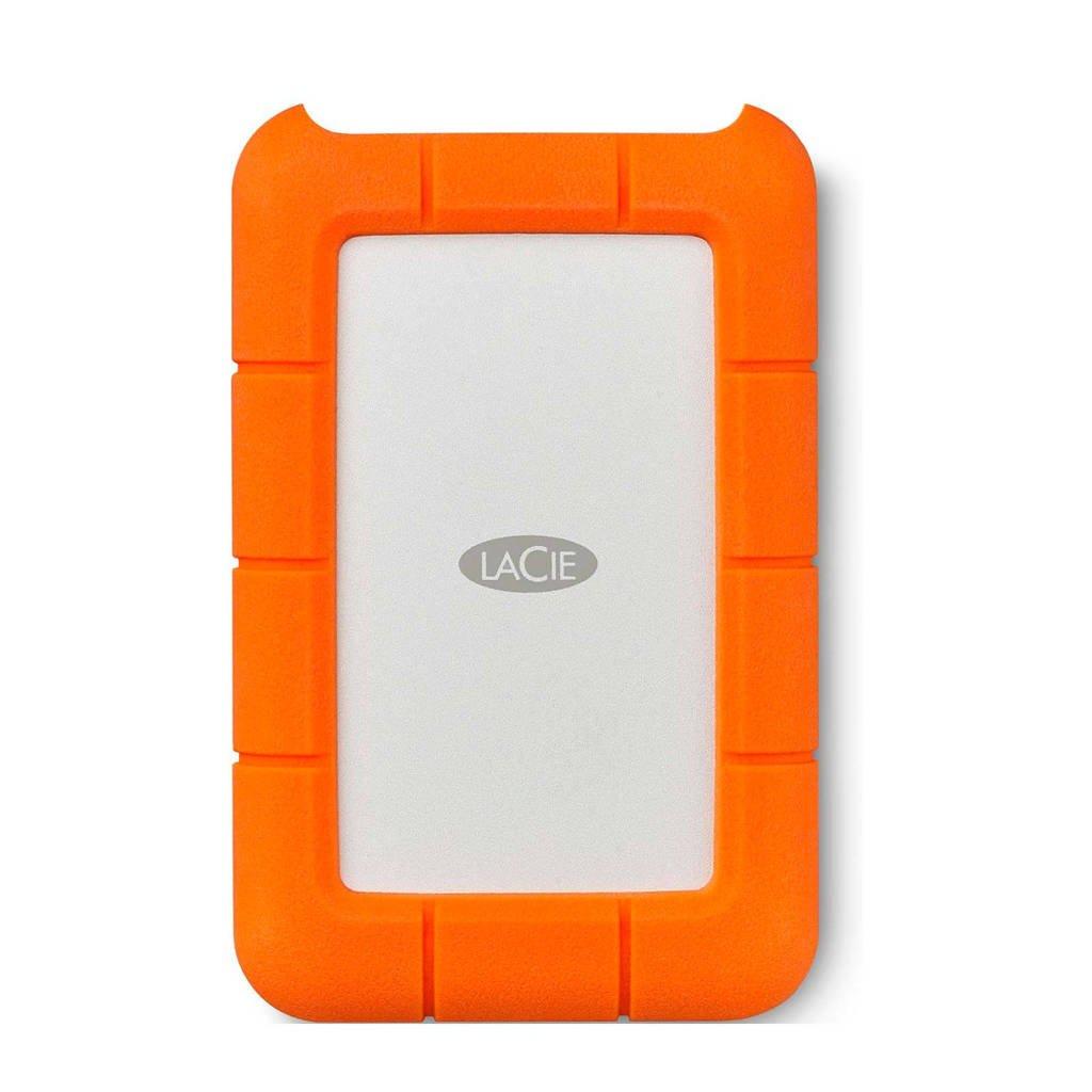 LaCie RUGGED USB-C 2.5 4 TB harddisk, 4000