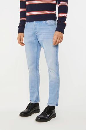 slim fit jeans bleached denim