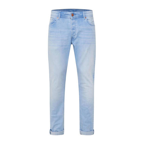 WE Fashion Blue Ridge slim fit jeans bleached deni