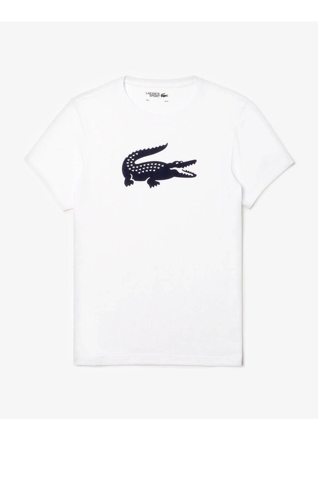 Lacoste   T-shirt wit, Wit