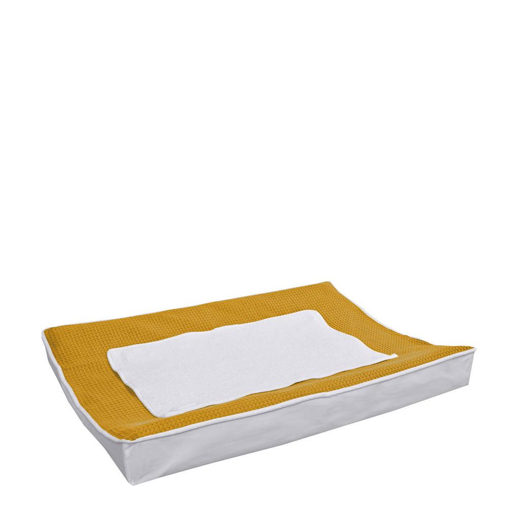 BINK Bedding aankleedkussenhoes 70x45 cm pique oker, Pique Oker