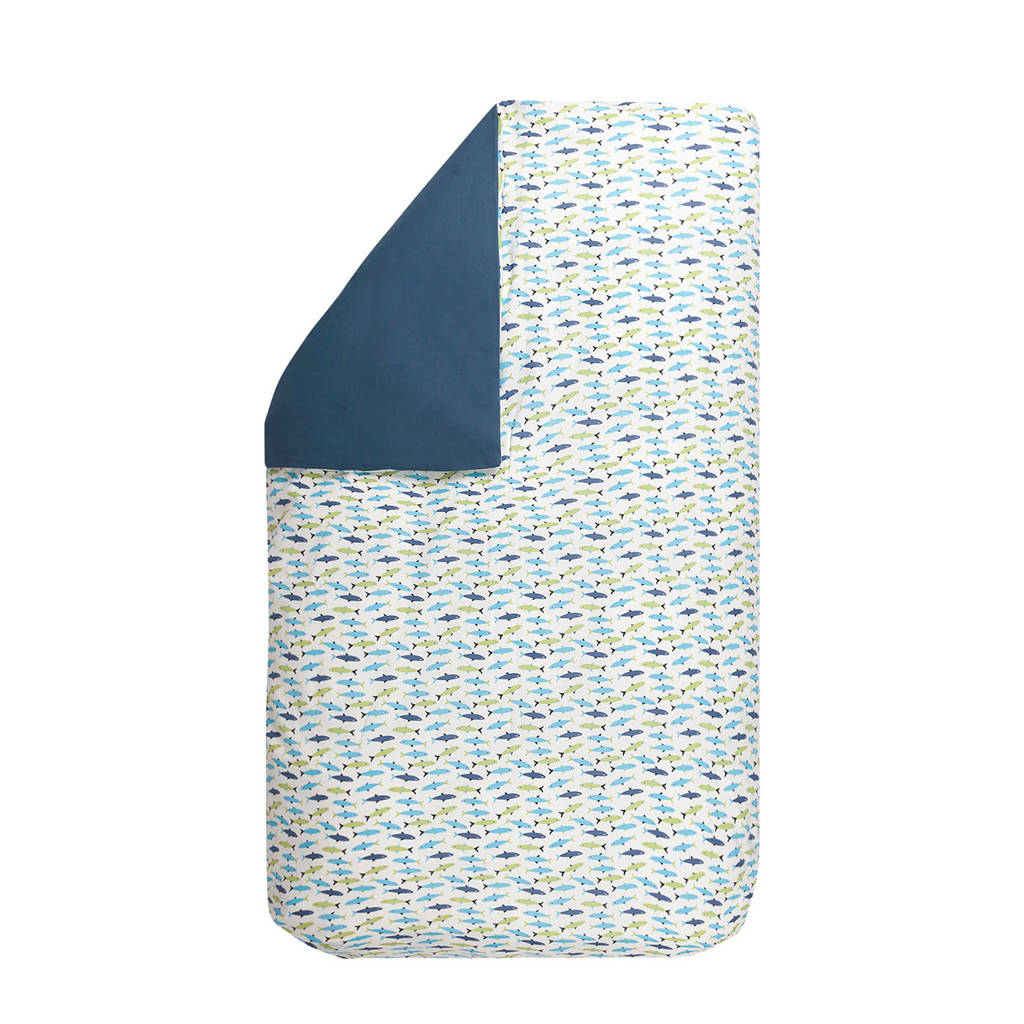 BINK Bedding dekbedovetrek 100x135 cm forel blue, Forel Blue