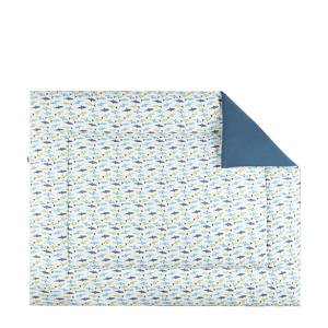 boxkleed 80x100 cm forel blue