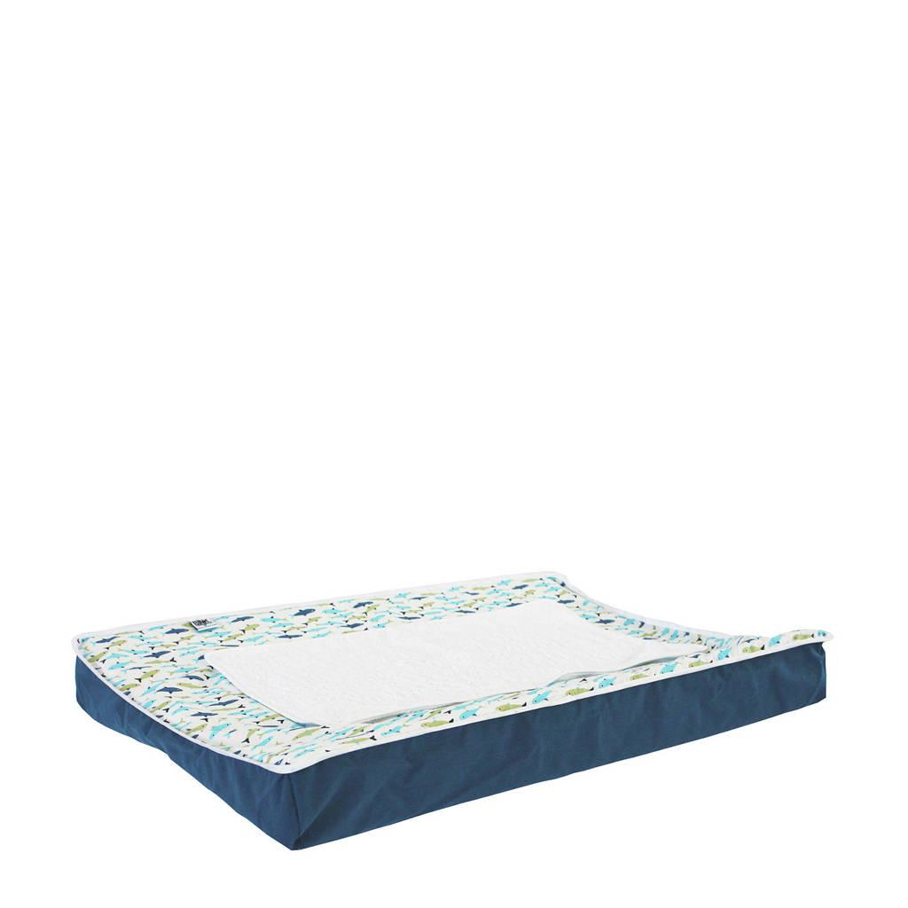 BINK Bedding aankleedkussenhoes 70x45 cm forel blue, Forel Blue