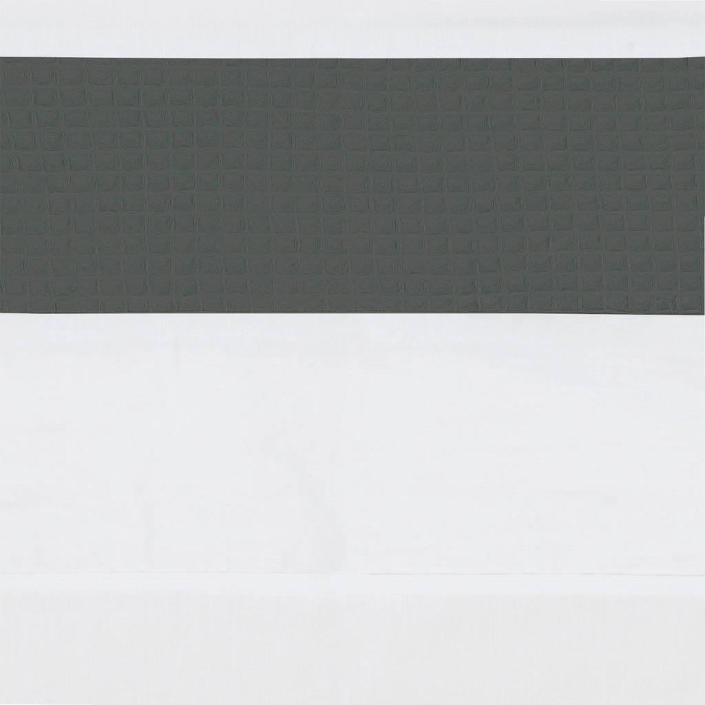 BINK Bedding ledikantlaken 100x150 cm pique antra, Pique Antra