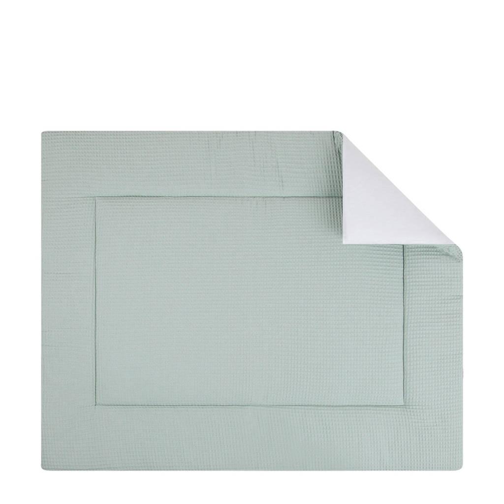 BINK Bedding boxkleed 80x100 cm pique olijf, Pique Olijf