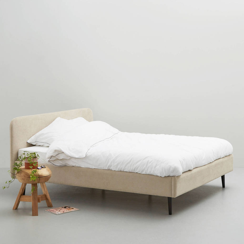 wehkamp home bed Portland  (160x200 cm), Beige