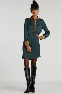 Scotch & Soda jurk groen/bruin, Groen/bruin