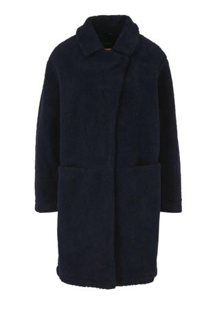 teddy jas donkerblauw