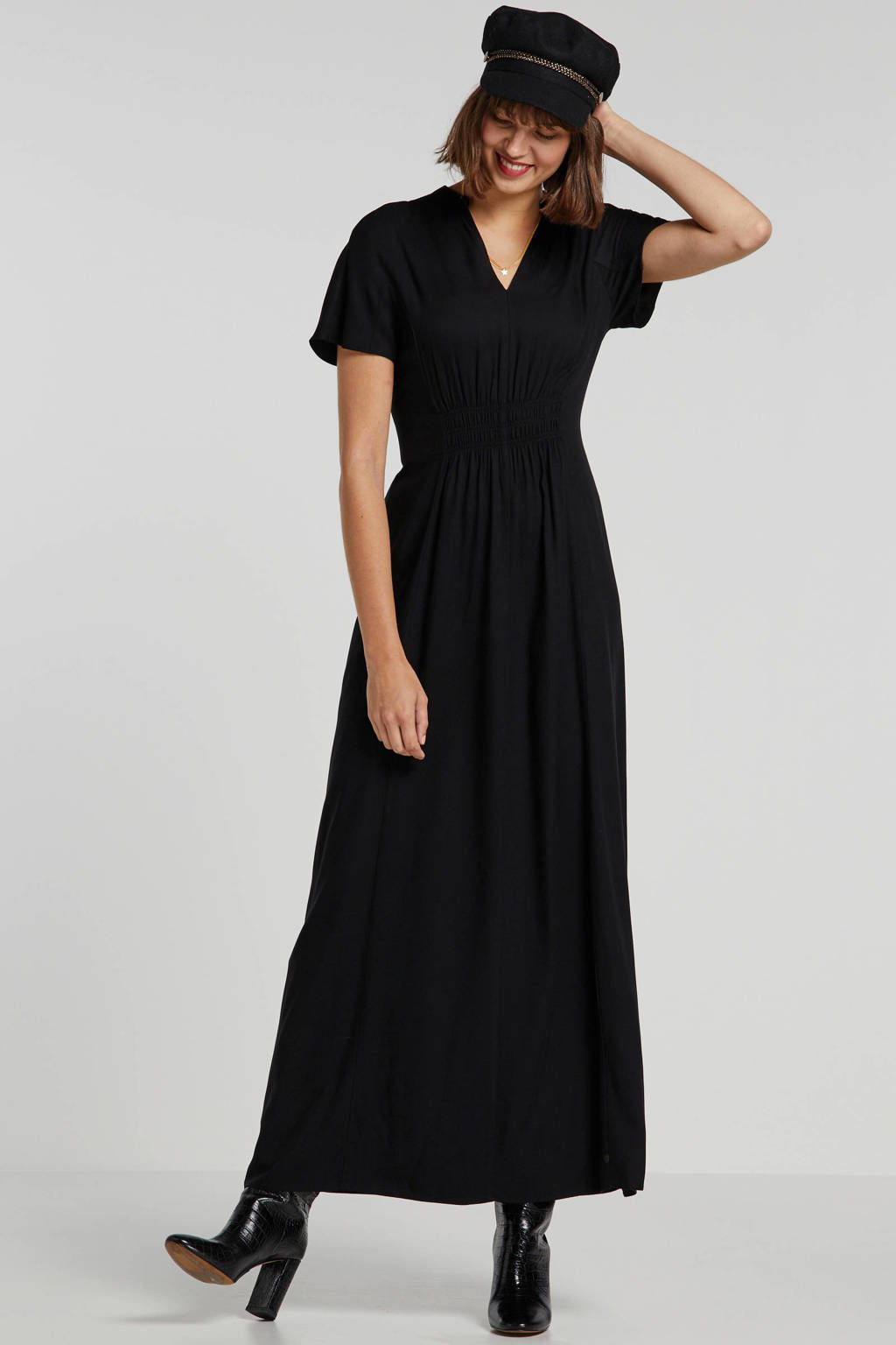Scotch & Soda maxi jurk zwart, Zwart