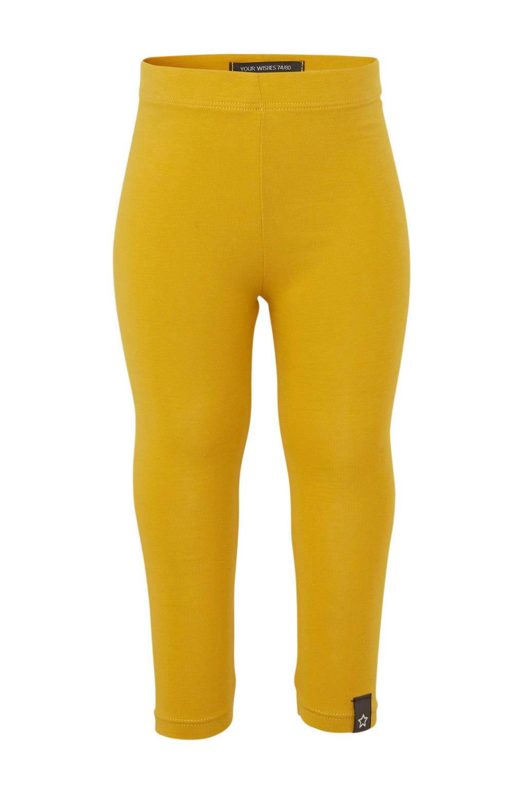 Your Wishes legging geel, Geel