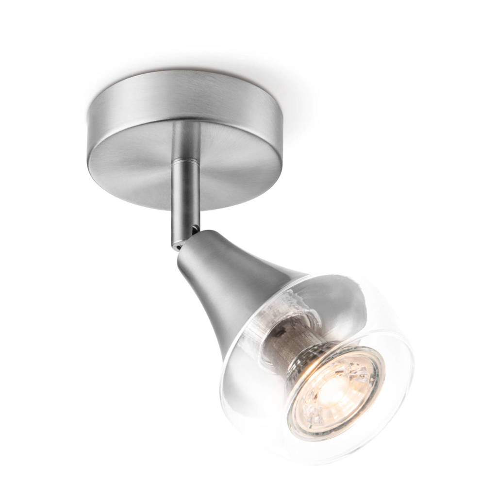 home sweet home LED opbouwspot, Zilver
