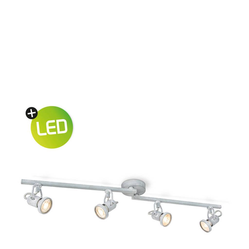 home sweet home LED opbouwspot (4 lampen), Grijs