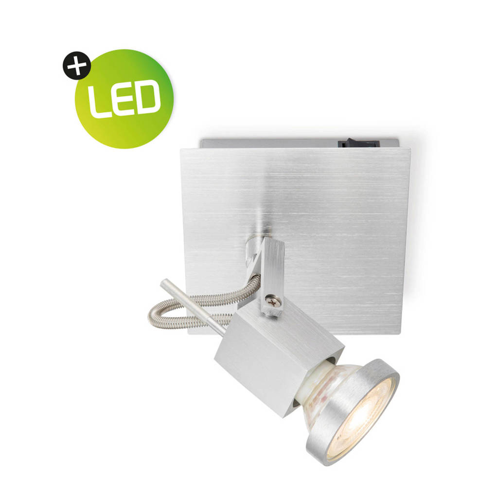 home sweet home LED opbouwspot, Aluminium