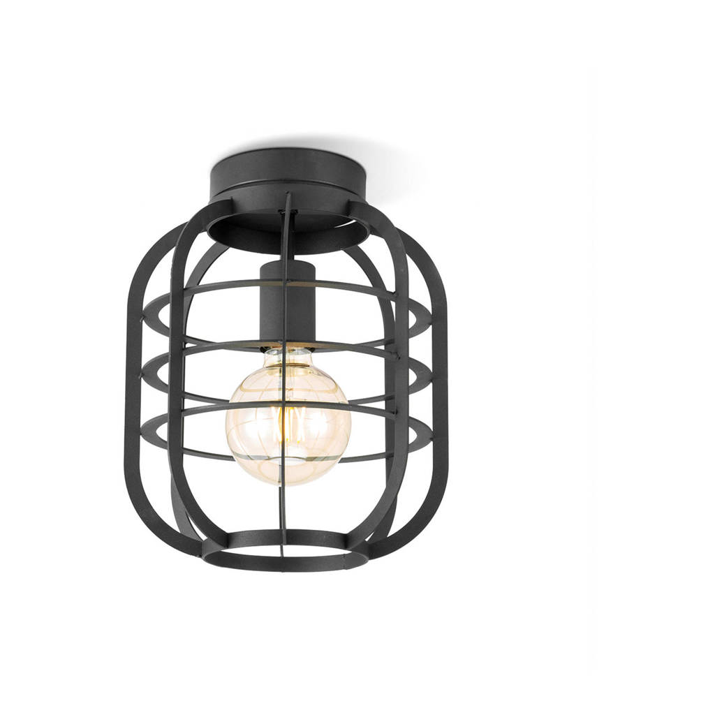 home sweet home plafondlamp, Zwart