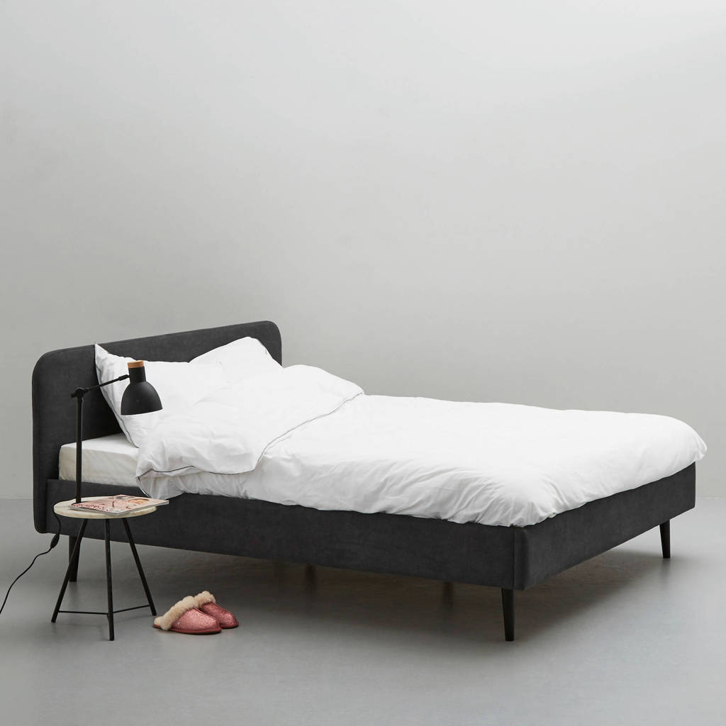 whkmp's own bed Portland  (180x200 cm), Antraciet
