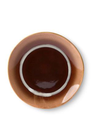 70's gebaksbordje (Ø17,5 cm)