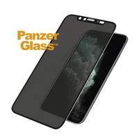 PanzerGlass iPhone XS Max/11 Pro Max screenprotector, Transparant zwart
