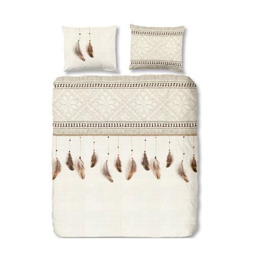Good Morning flanellen dekbedovertrek lits-jumeaux