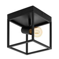 EGLO plafondlamp Silentina, Zwart