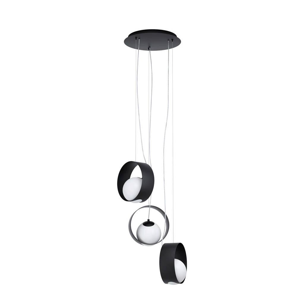 EGLO hanglamp Camargo 3-lichts, Zwart