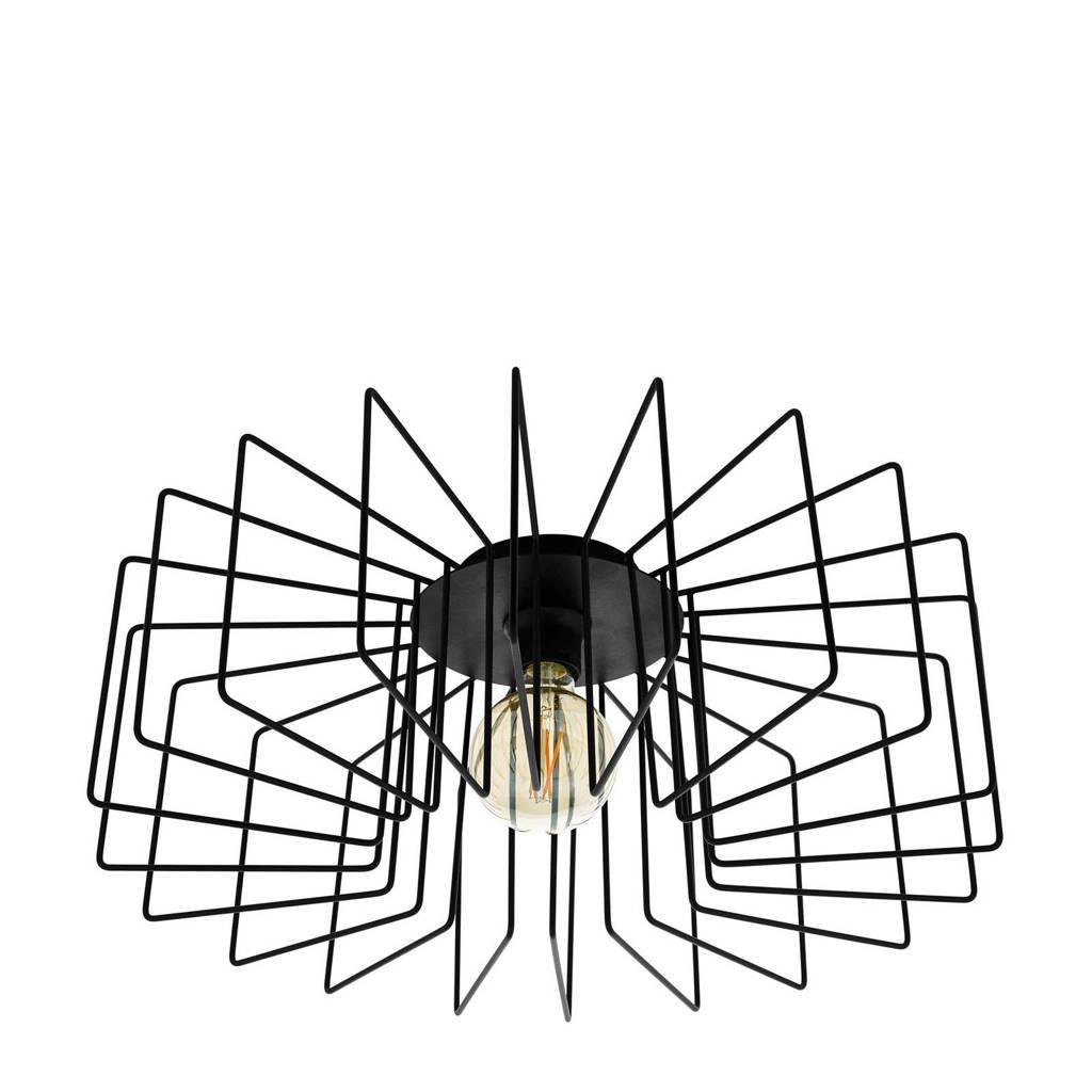 EGLO plafondlamp Tremedal (Ø56 cm), Zwart