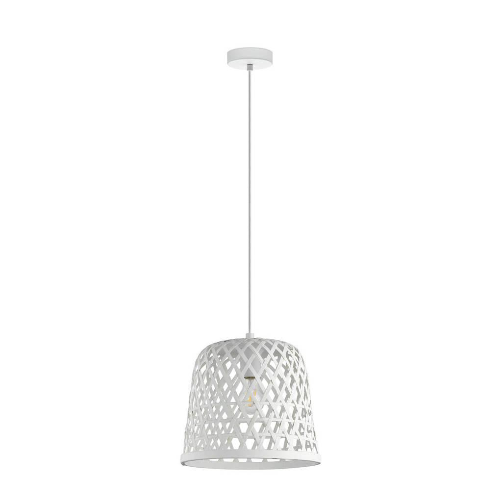 EGLO hanglamp Kirkcolm (Ø30 cm), Wit